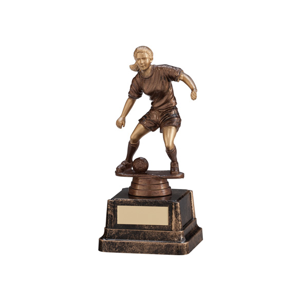 Swerve Female Football Trophy 230mm