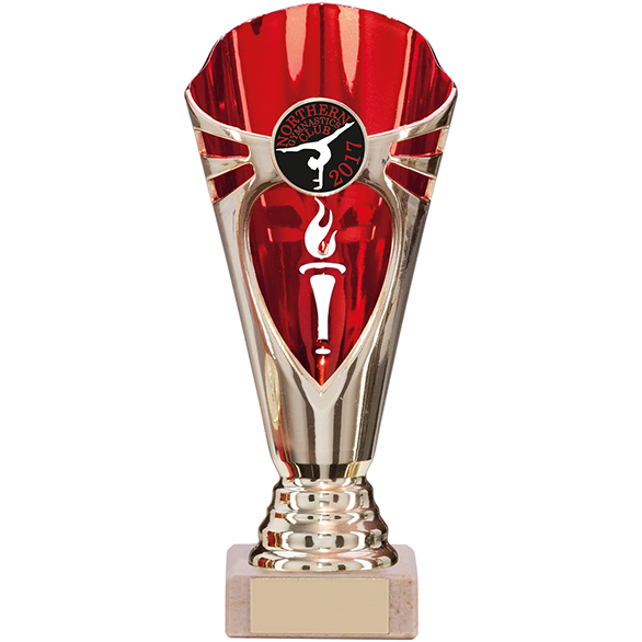 Challenger Trophy Gold & Red 180mm