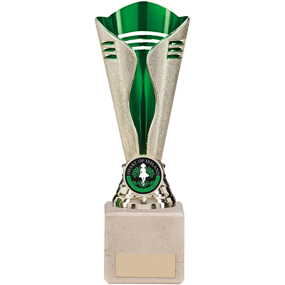 Empire Trophy Gold & Green 195mm