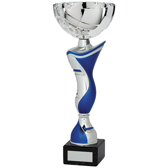 King Cup Silver & Blue 250mm