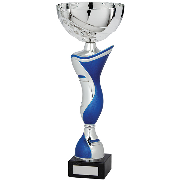 King Cup Silver & Blue 300mm