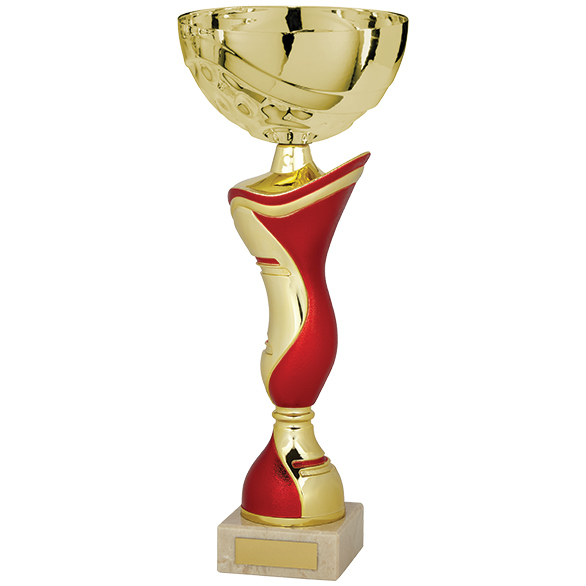 King Cup Gold & Red 330mm