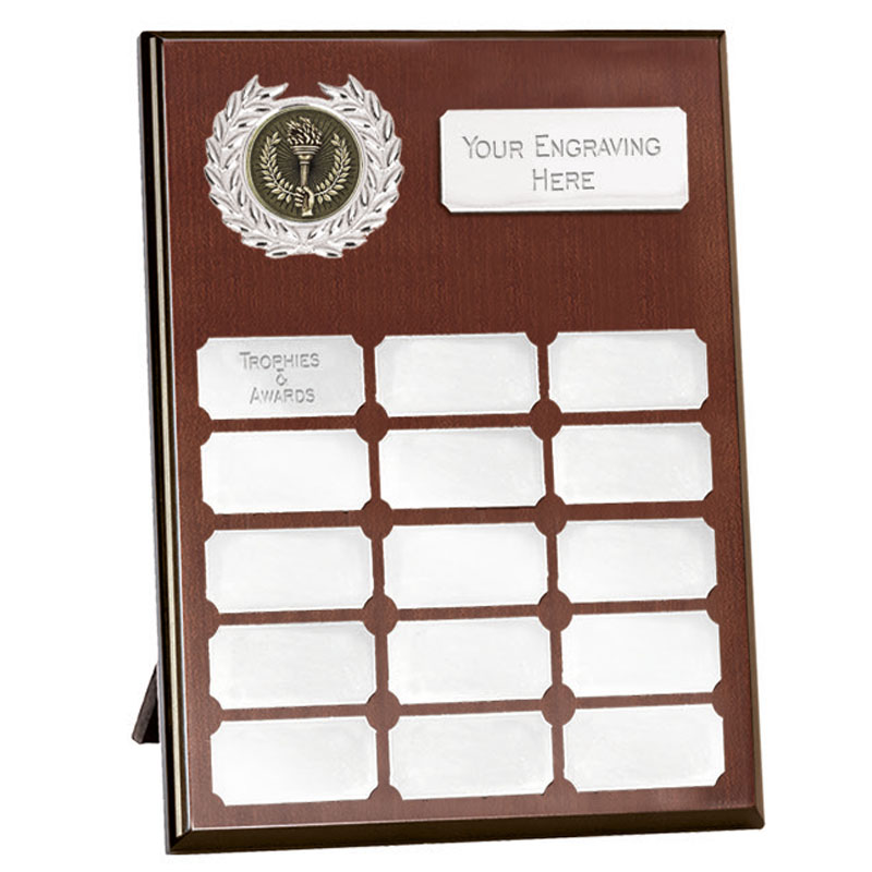 Westminster Budget Record Plaque 200mm