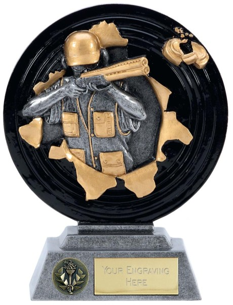 Xplode Clayshooting Resin Trophy