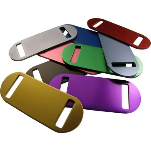 50mm x 20mm Sliding Collar Tag
